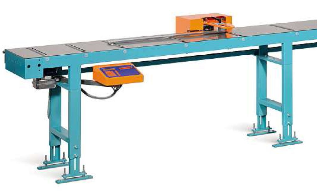 INPUT AND OUTPUT TABLE WITH MEASURING SYSTEM