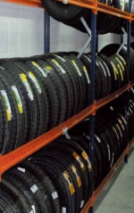 [B1] STORAGE RACK FOR TIRES - BASE