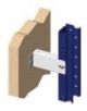 [E2] SPACER 50 mm. FOR SHELF FOR PALLETS - Against wall